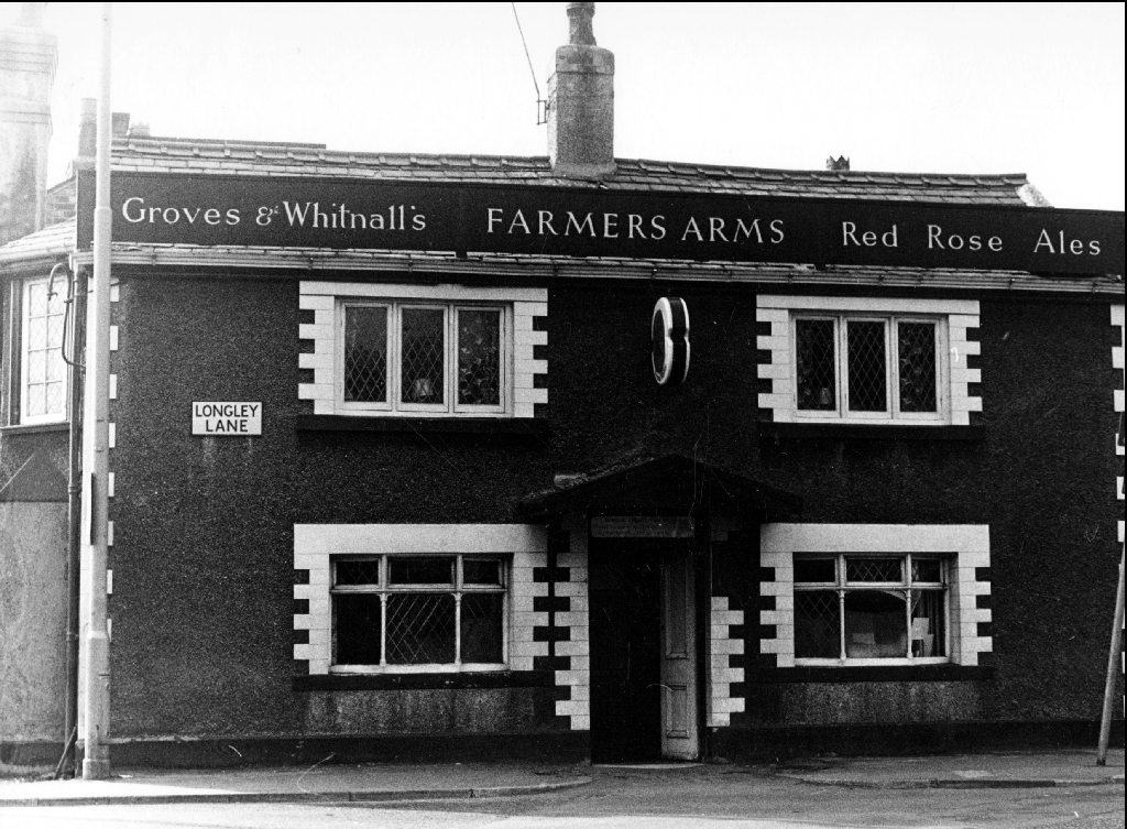 Old photo of Farmers Arms