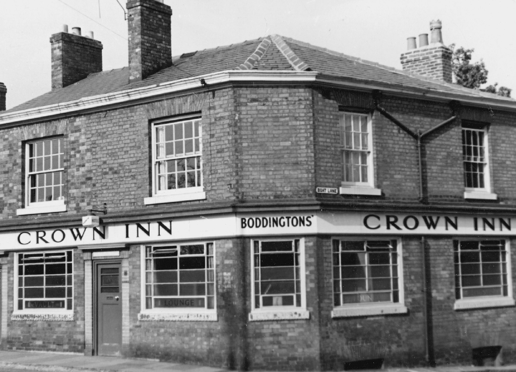 The Crown, or Corner Pin in 1959